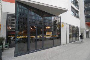 façade en aluminium thermo-laqué