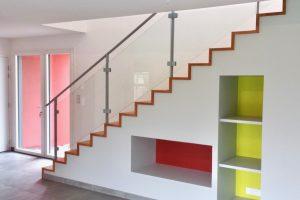 Escalier et rambarde en acier galvanisé Bressuire-79