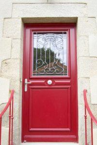 Porte entrée - Nueil Les Aubiers -79