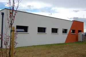façade arrière - Châssis aluminium à soufflet