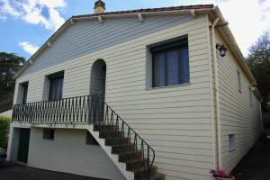 Rénovation avec bardage et isolation par l'extérieur Rénovation-Nueil les Aubiers -79