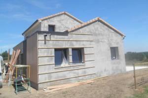 Ossature bois pour bardage - charpente - menuiseries extérieures-Voulmentin 79